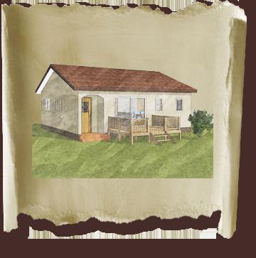かわいい家は塗り壁のローコスト平屋住宅 フラットハウス-1
