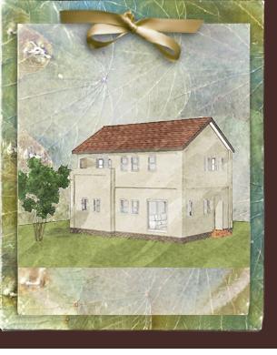 ローコスト住宅で漆喰塗り壁がかわいい家 フローレンス-1