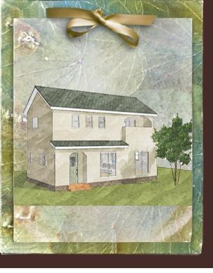 ローコスト住宅で漆喰塗り壁がかわいい家 フローレンス-3