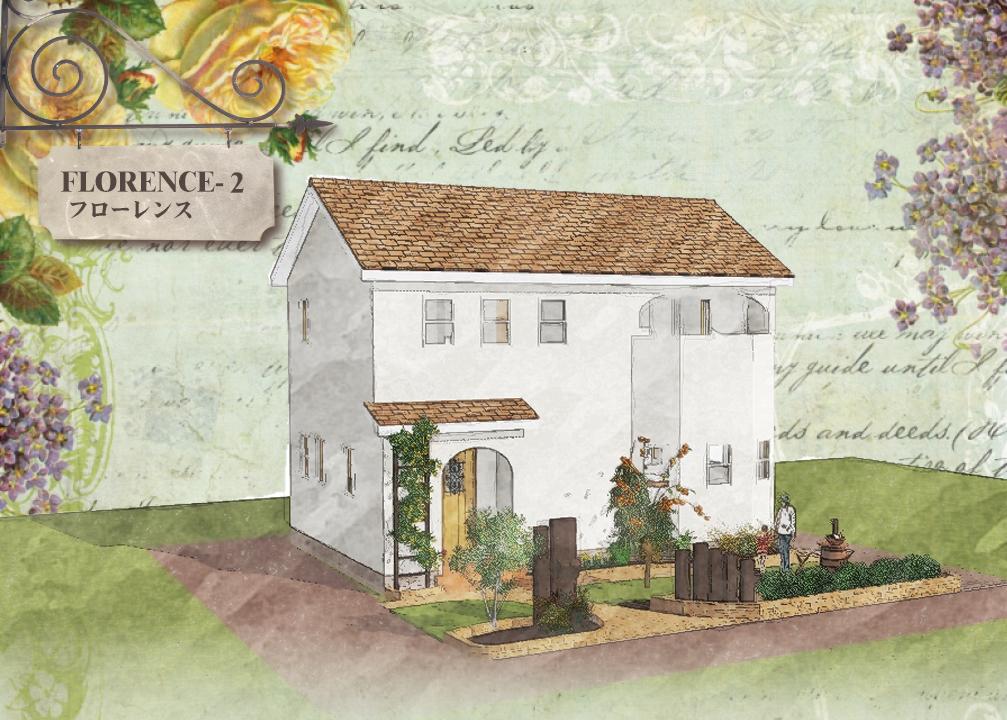 かわいい家は塗り壁のローコスト住宅 フローレンス-2