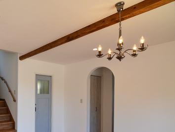 リビング天井の梁