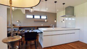 インダストリアルデザインとかわいいが融合したお家 キッチン1