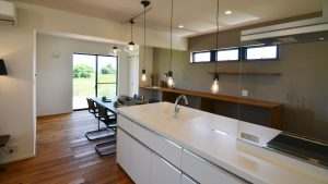 インダストリアルデザインとかわいいが融合したお家 キッチン2